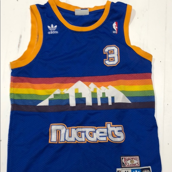 buy online a9690 3dc06 NBA Nuggets Retro Jersey